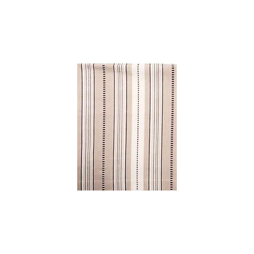 Winston Porter Catumba Striped Room Darkening Rod Pocket Single Curtain Panel Wayfair