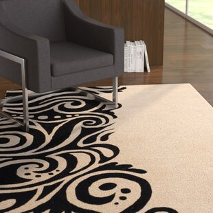 Setsuko Modern Hand Tufted Black Area Rug By Latitude Run