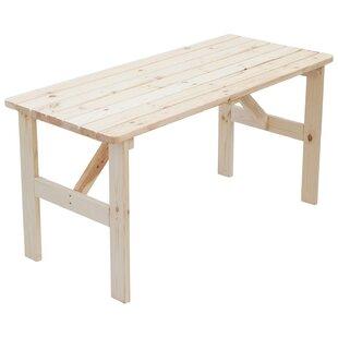 Watauga Wooden Dining Table Image