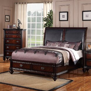 Astoria Grand Greyson Sleigh Bed