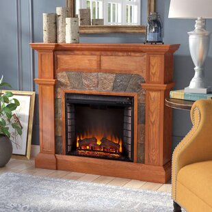 Gaskins Electric Fireplace by Alcott Hill