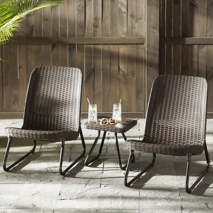 Mercury Row Stickel 3-Piece Seating Group