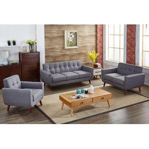 Tanner 3 Piece Living Room Set