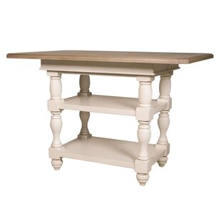 Quevillon Counter Height Extendable Dining Table