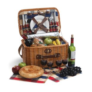 Rustica 4 Person Picnic Basket