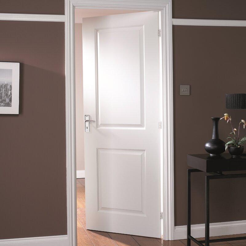 Cambridge Hollow Panelled Slab Internal Door & Jeld Wen Cambridge Hollow Panelled Slab Internal Door \u0026 Reviews ...