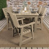 Fonso 7 Piece Dining Set