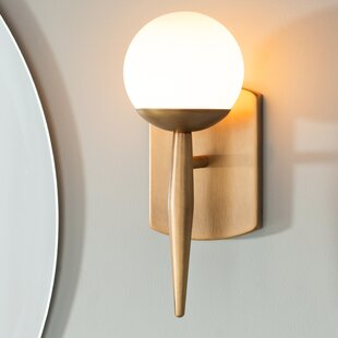 Reviews Acuna 1 Light Wall Sconce By Langley Street