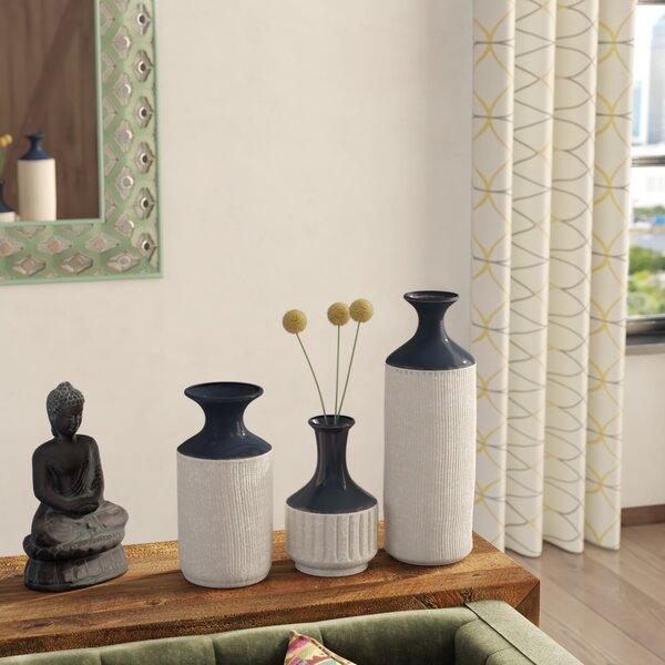 Navy Blue Tall Vase Wayfair