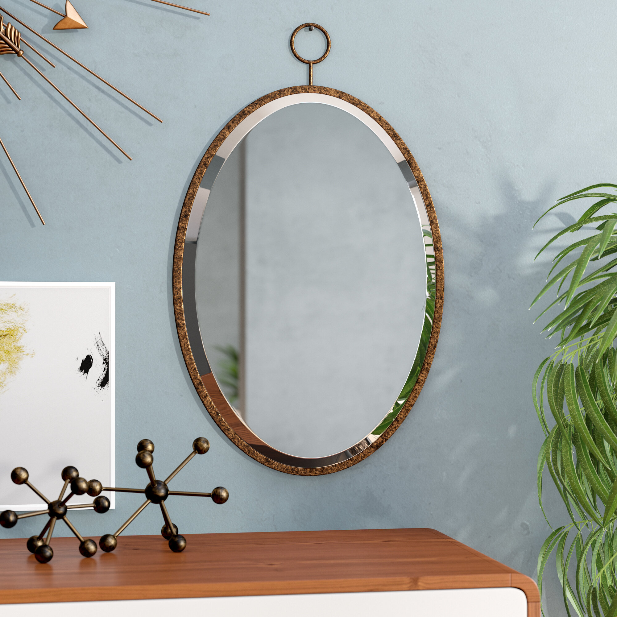 Bloomsbury Market Modern Contemporary Accent Mirror Reviews Wayfair