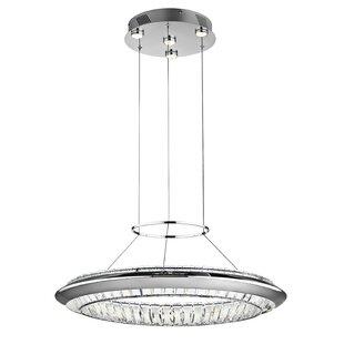 Joez 5-Light LED Geometric Chandelier by ?lan Lighting