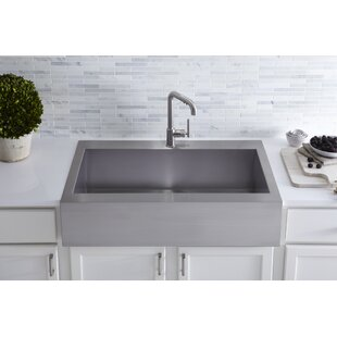 Drop In Apron Front Sink | Wayfair Undercounter Kitchen Sink Front Drop on light kitchen sinks, ornate kitchen sinks, undermount kitchen sinks, double kitchen sinks, cheap kitchen sinks, restaurant kitchen sinks, white kitchen sinks, cool kitchen sinks, electric kitchen sinks, furniture kitchen sinks, appliances kitchen sinks, portable kitchen sinks, side by side kitchen sinks, amazon kitchen sinks, black kitchen sinks, best kitchen sinks, brown kitchen sinks, tall kitchen sinks, stainless steel kitchen sinks, unique kitchen sinks,