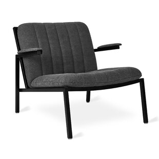 Dunlop Powder Coat Mineral Lounge Chair by Gus* Modern
