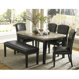 Nuccio 6 Piece Dining Set Latitude Run