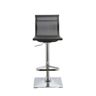 Kratz Adjustable Height Swivel Bar Stool ..