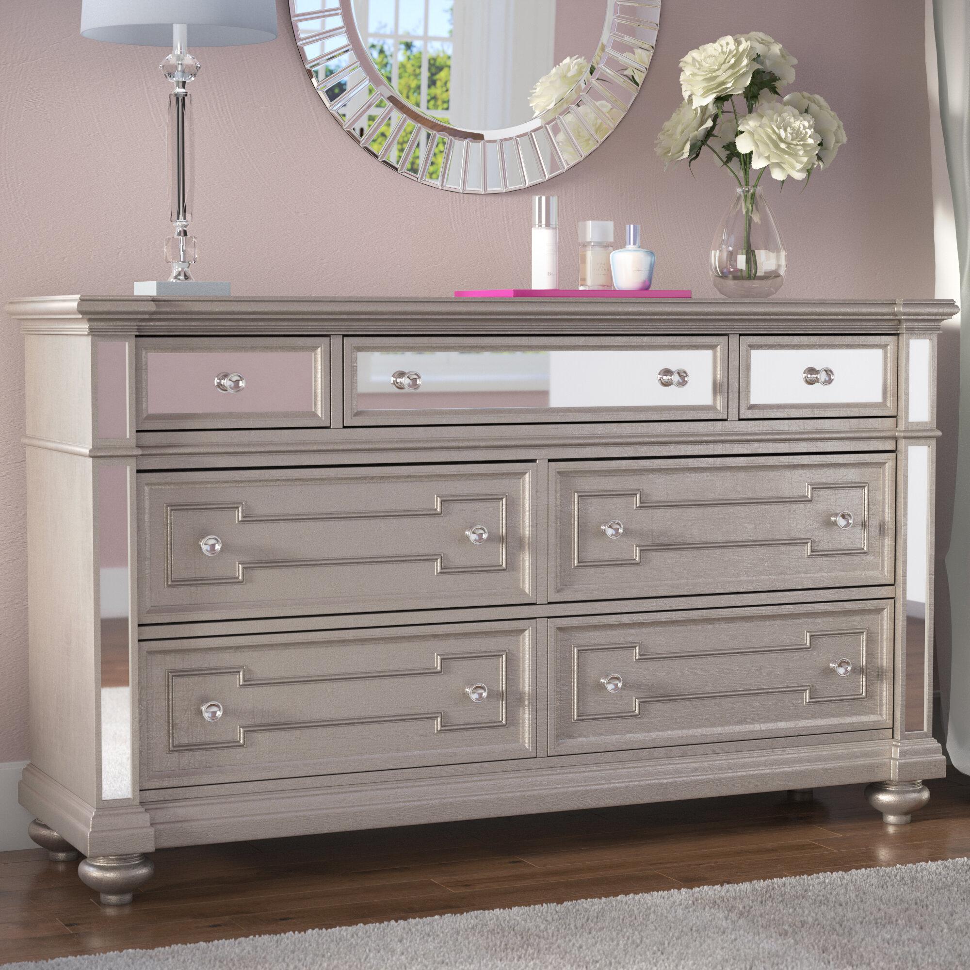 Willa Arlo Interiors Ronna 7 Drawer Dresser Reviews Wayfair