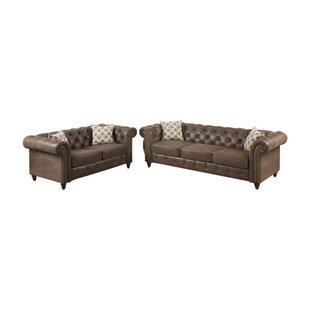 Laguerre 2 Piece Living Room Set by Alcott Hill
