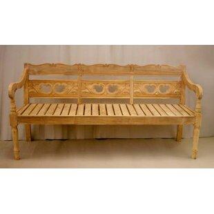 Proulx Teak Garden Bench by One Allium Way