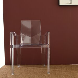 Stackhouse Transparent Dining Chair (Set of 4) by Brayden Studio