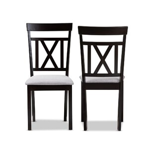Winston Porter Sheena Solid Wood Dining Chair (Set of 2)