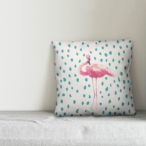 Pink Flamingo Outdoor Pillow Wayfair