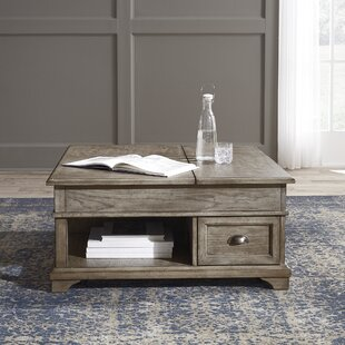 Carignan Lift Top Coffee Table with Storage