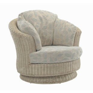 Cavaillon Swivel Tub Chair By August Grove