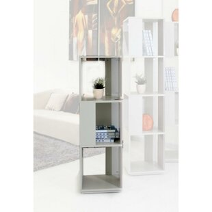 Clitherall Metal Vertical Display Cube Bookcase