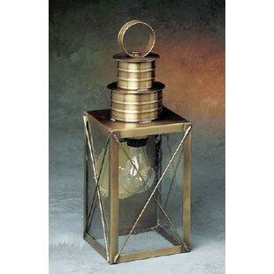 Brass Traditions 200 Series 1-Light Outdoor Wall Lantern
