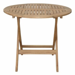 Chester Folding Teak Bistro Table