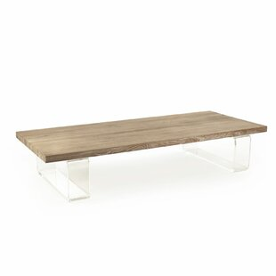 Amenia Acrylic Coffee Table by Foundry Select