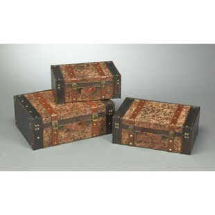 3 Piece Trunk Set by AA Importing