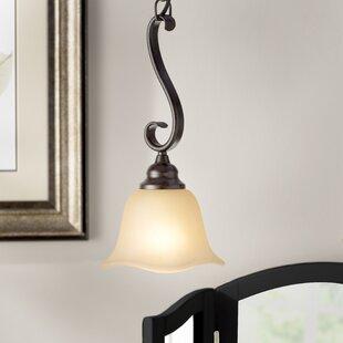 Charlton Home Dakota 1-Light Bell Pendant