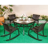 Delway 5 Piece Bistro Set (Set of 5)