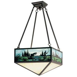 Fly Fishing Creek 3-Light Semi..