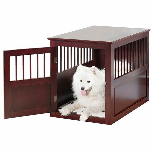 Dog crates furniture style Mission Wayfair Dog Crate Furniture End Tables Youll Love Wayfair