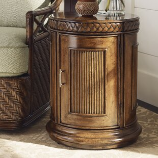Tommy Bahama Home Bali Hai End Table with Storage