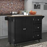 Black Kitchen Islands & Carts You\'ll Love in 2019 | Wayfair