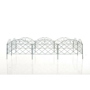 0.5m X 0.4m Brantley Border Fence By Marlow Home Co.
