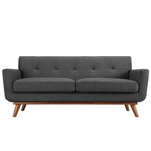 Johnston Tufted Upholstered Loveseat
