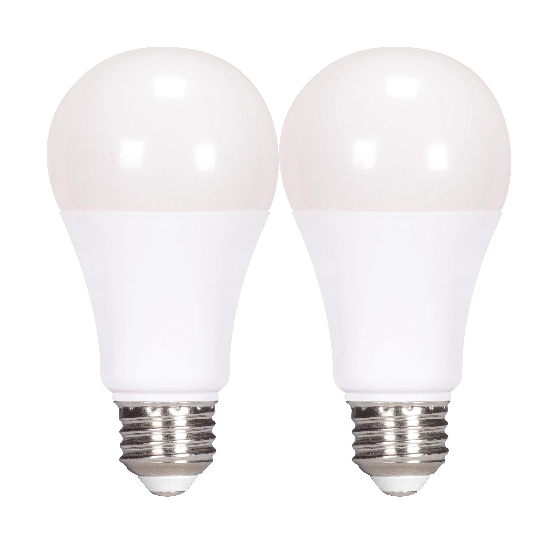 Satco 13 Watt 75 Watt Equivalent A19 Led Dimmable Light Bulb Warm White 2700k E26 Medium Standard Base Wayfair