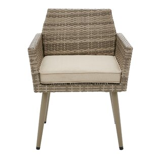 Pantano Patio Dining Chair with Cushion (Set of 2)