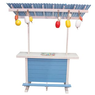 Margaritaville One Particular Harbour Surf Shack Tiki Bar by Rio Brands