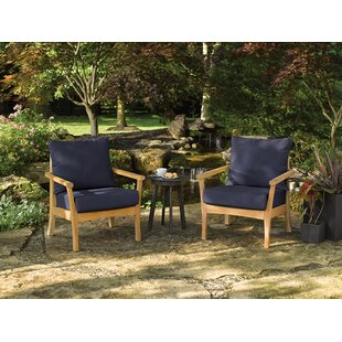 Huggins 3 Piece Conversation Set with Cushions