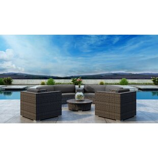 Gilleland 6 Piece Sectional Set with Sunbrella Cushion by Orren Ellis