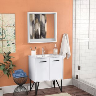 Affordable Almaraz 30 Single Bathroom Vanity Set with Mirror By Langley Street
