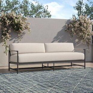 Abena Patio Sofa with Sunbrella Cushions