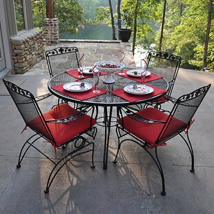 Meadowcraft Dogwood 5 Piece Dining Set