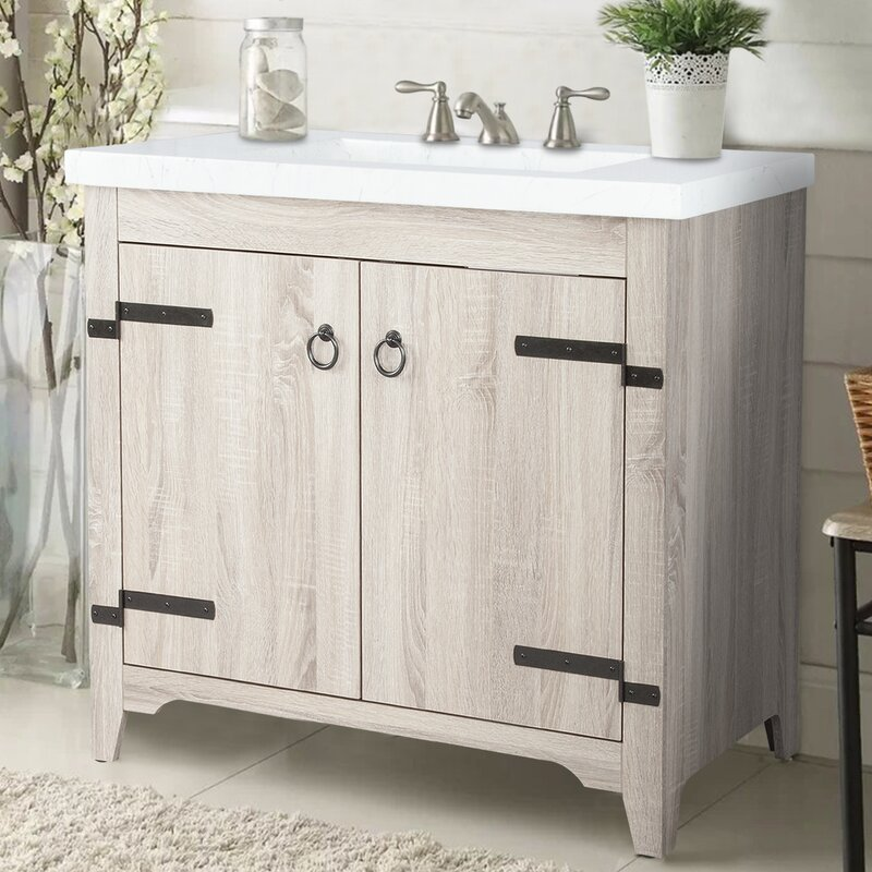 Millwood Pines Sia 36 Quot Single Bathroom Vanity Set Amp Reviews Wayfair Ca