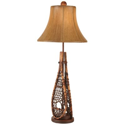 "Rustic Living Snow Shoe29"" Buffet Lamp Coast Lamp Mfg."